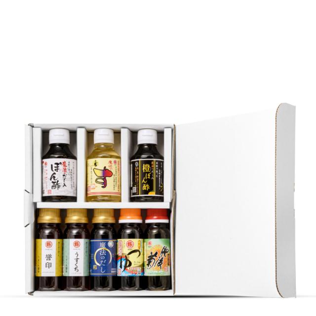 マルヤの九州高級醤油 8本セット (送料無料)